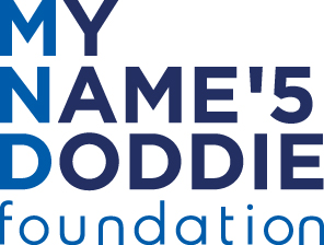 My Name'5 Doddie Foundation logo