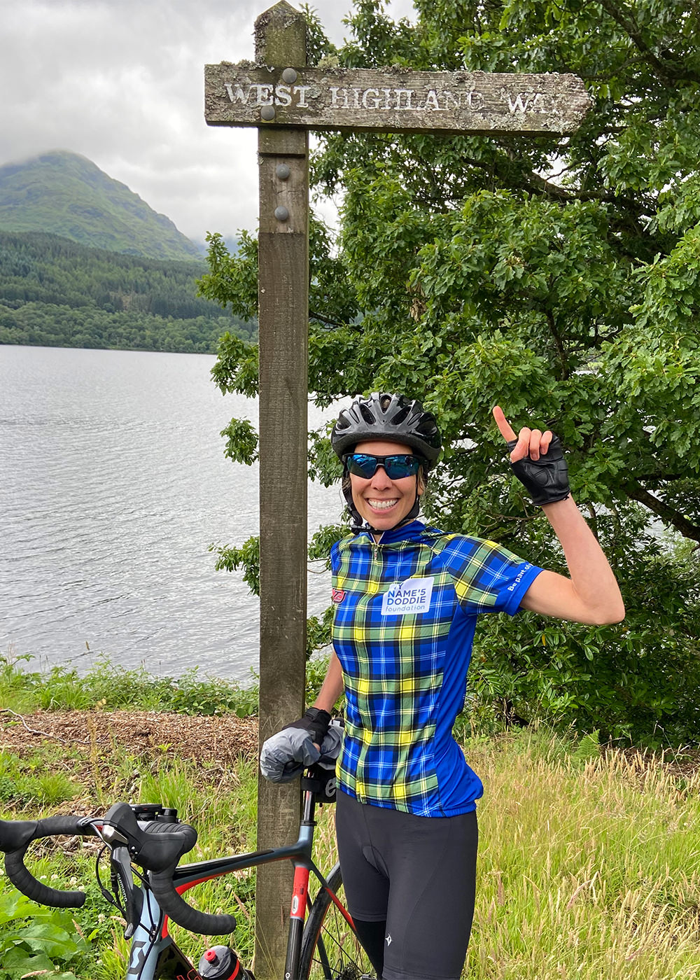 Doddie's Virtual Ride 2020 participant 1