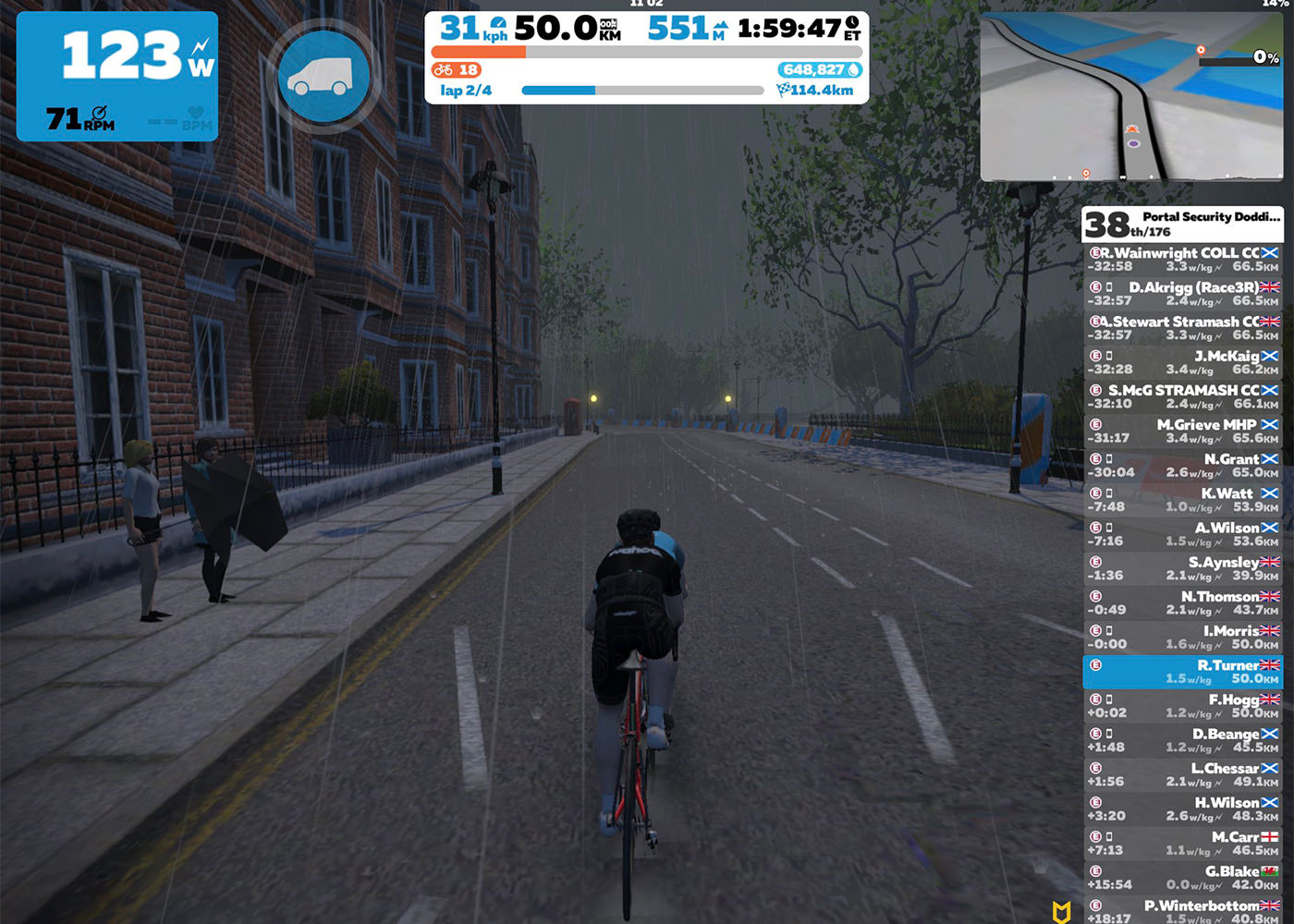 Doddie's Virtual Ride 2020 participant 2