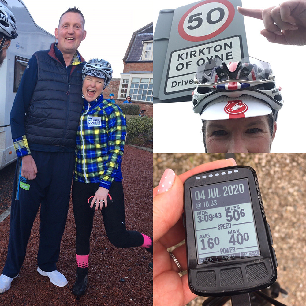 Doddie's Virtual Ride 2020 participant 4