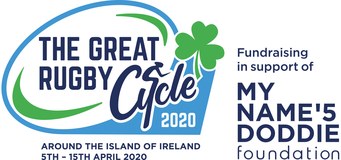 The Great Rugby Cycle 2020 logo