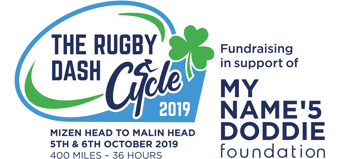 The Great Rugby Cycle logo